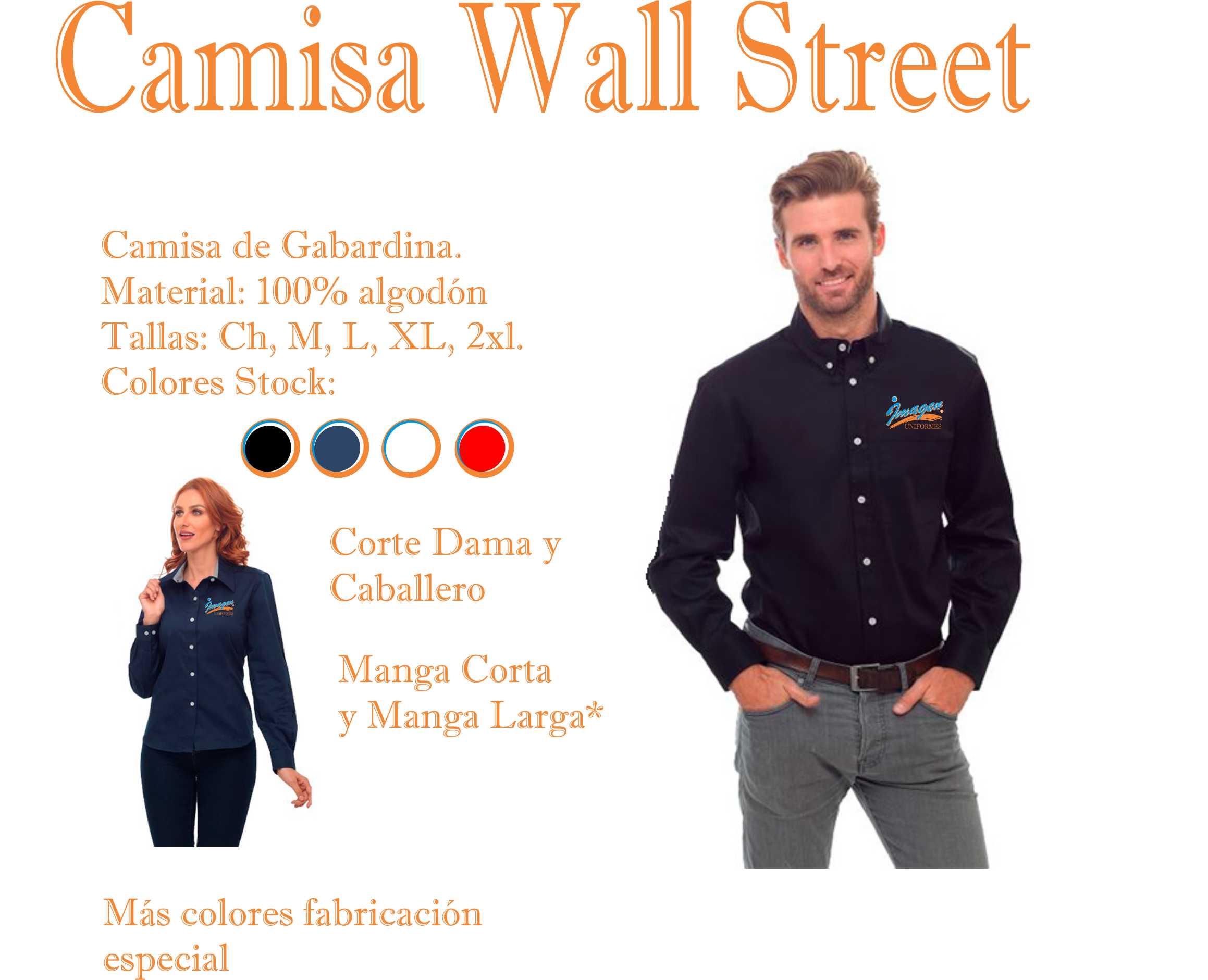 Camisa Wall Street