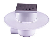 111064 - LoLo Drain Stainless Steel Round Hole
