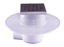 111063 - LoLo Drain Stainless Steel Square Hole