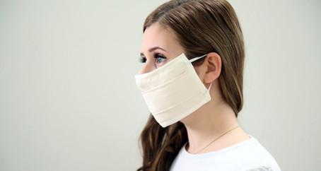 Die SAMINA Tutela© Baumwoll-Silber-Gesichtsmaske