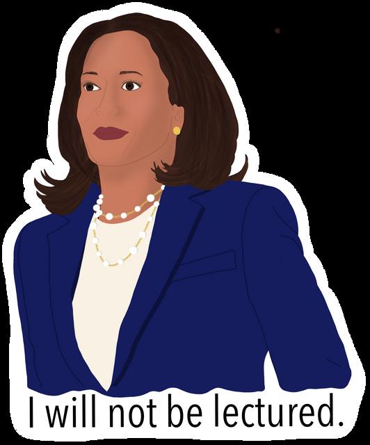 Senator Kamala Harris Sticker
