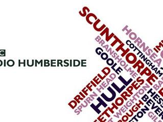 Axholme on BBC Radio Humberside
