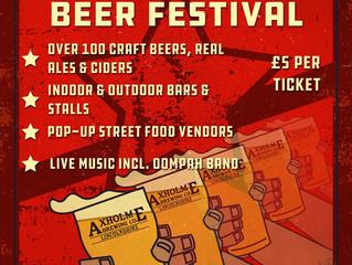 Axholme sponsors 2018 Beachcomber Beer Festival