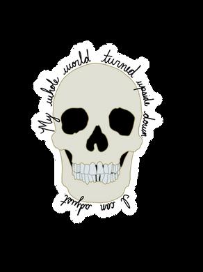 Bones TV Quote Sticker