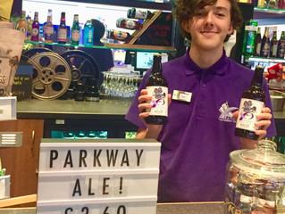 Premier of Parkway Pale Ale