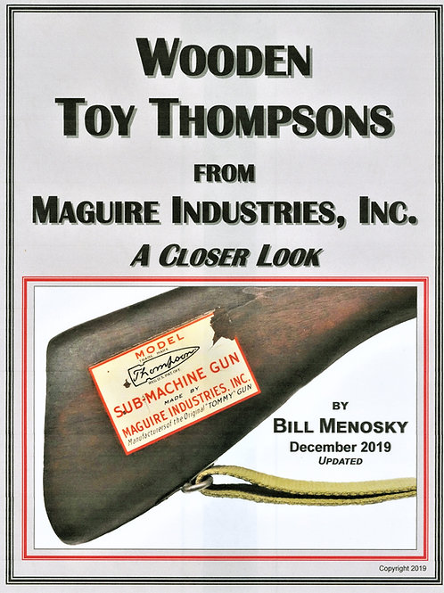 Wooden Toy Thompsons from Maguire Ind., Inc.  A Closer Look