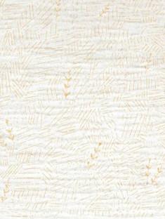 Mousseline gold feuilles - Katia