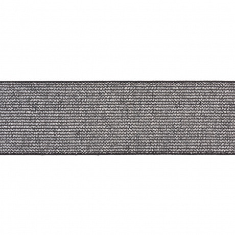 Élastique maille métallisé aergent 40mm