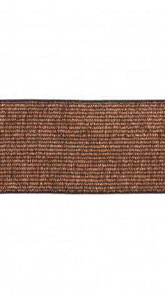 Élastique maille métallisé cuivré 40mm