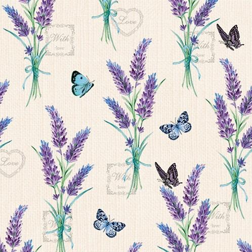 Lavender Paper Napkins - 25x25