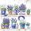 Thumbnail: Lavender Paper Napkins - 33x33