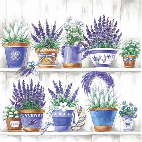 Lavender Paper Napkins - 33x33