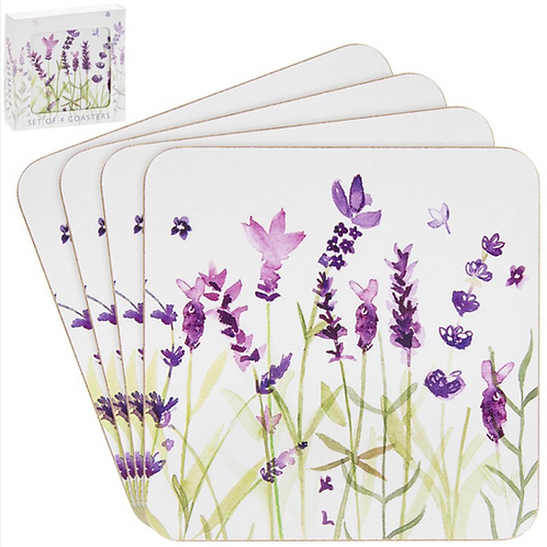 Lavender Design Coasters
