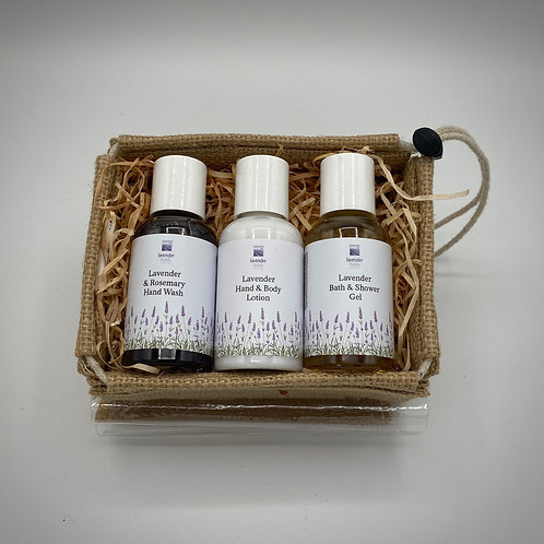 The Lavender Travel Trio Gift Set