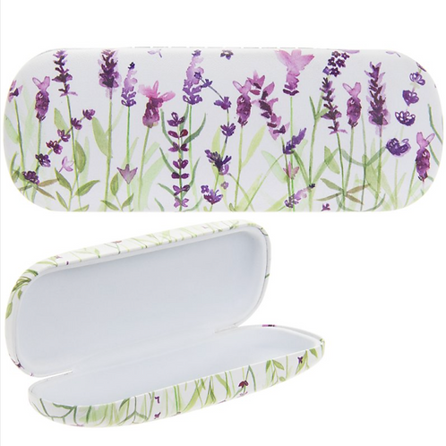Lavender Design Glasses Case