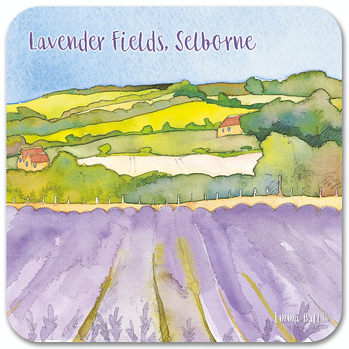 Lavender Fields Coaster