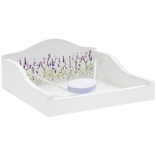 Lavender Design Napkin Holder