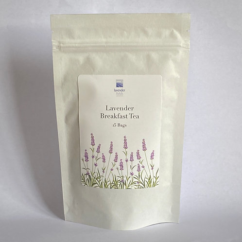 Lavender Breakfast Tea - 15 Bags
