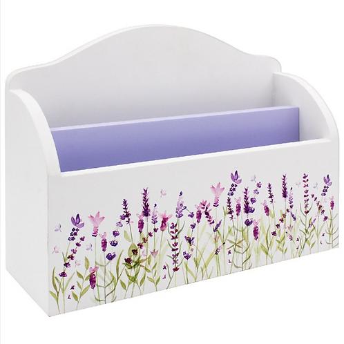 Lavender Design Letter Rack