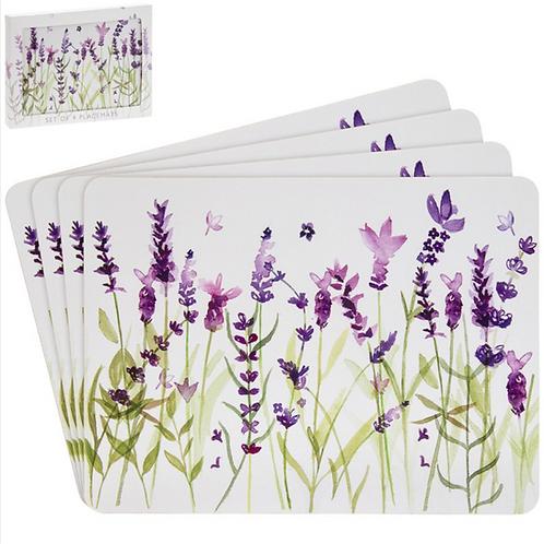 Lavender Design Table Mats