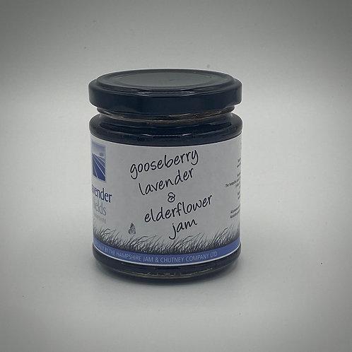 Gooseberry, Lavender & Elderflower Jam