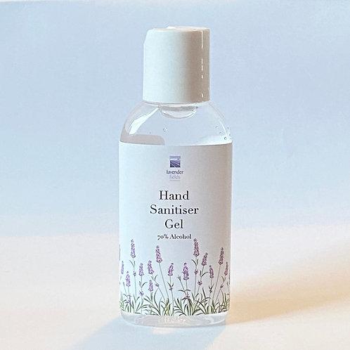 Lavender Fields Hand Sanitiser Gel - 60ml