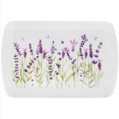Lavender Design Snack Tray