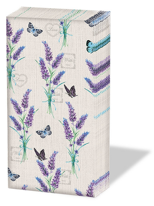 Lavender Pocket Tissues
