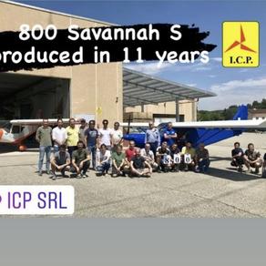 Le 800e Savannah S en 11 ans