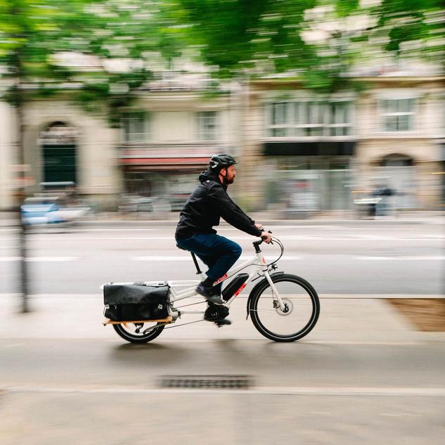 transport marchandise décarboné, vélo cargo