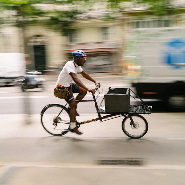 transport marchandise, vélo cargo, professionel livraison écologique