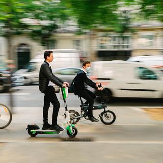 circulation, moyen de transport bio paris, france