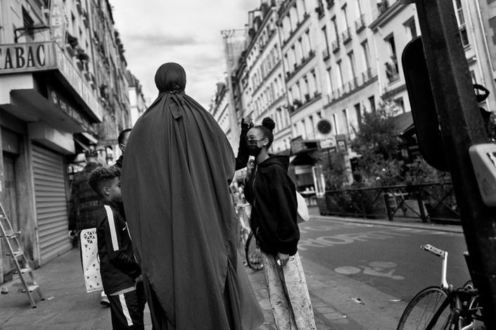Laurent Delhourme - Photographie de rue - Paris - France