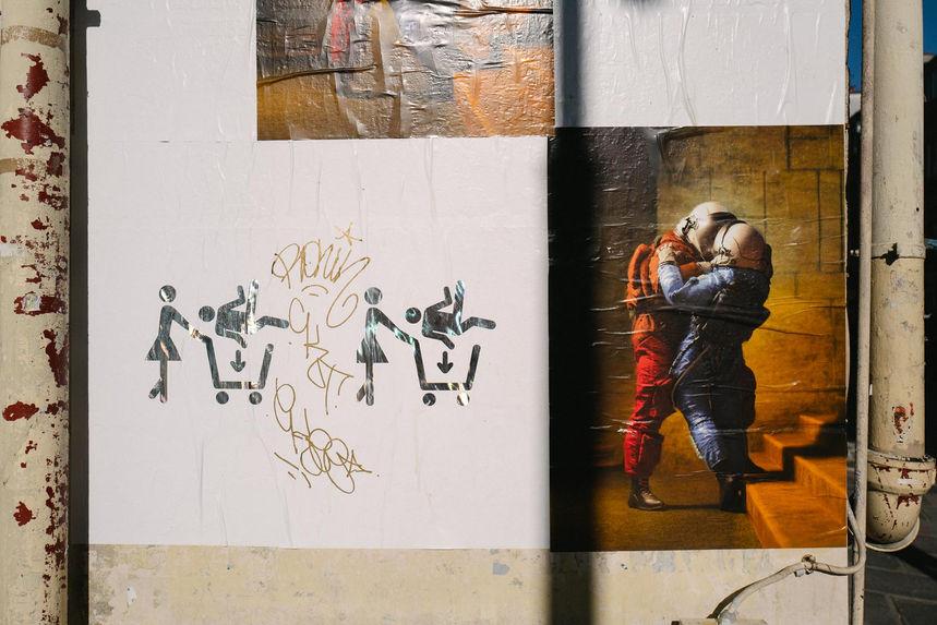 Laurent Delhourme - photo de rue Paris -