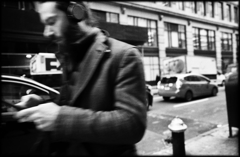 Laurent Delhourme - New York street photographer -