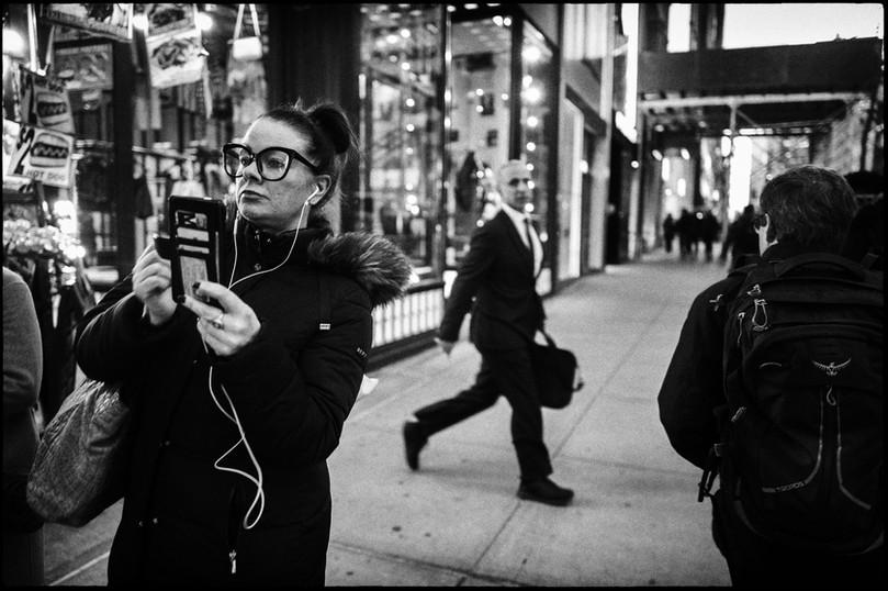 Laurent Delhourme - French street photographer - New-York