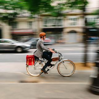 vélo electrique piste cyclable paris, coronapiste