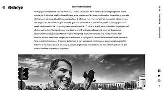 parution sur le site internet français fisheye