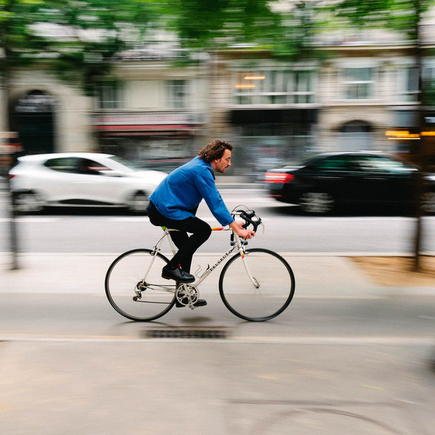 vélo vintage, rue de paris, urbanisation coronapistes