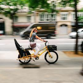 transport famille éco bio, coronapistes paris