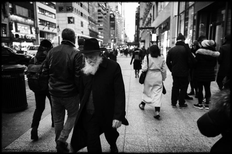 Laurent Delhourme - French street photographer - NY City