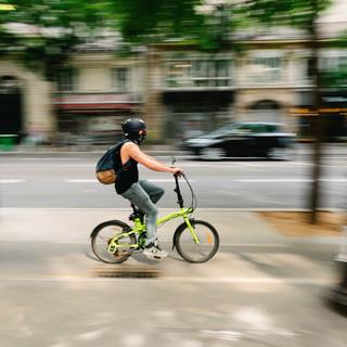 transport domicile travail, cornapistes paris, circulation deux roues