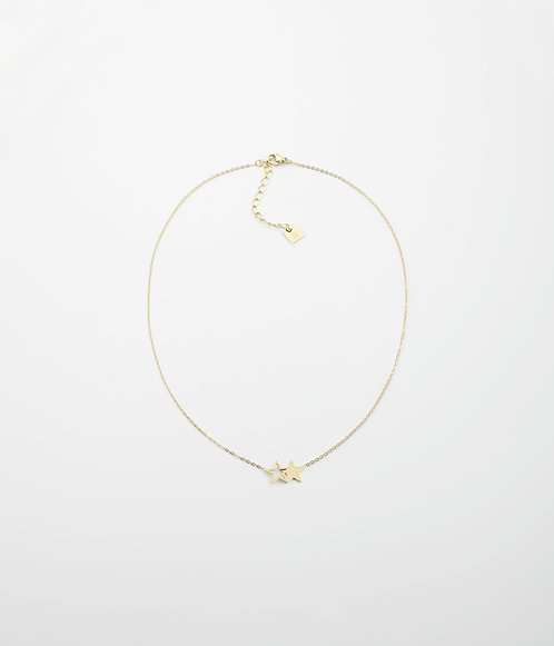 Collier Double star Zag Bijoux