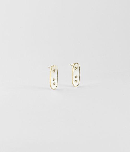Boucles d'oreilles Euclide Zag Bijoux