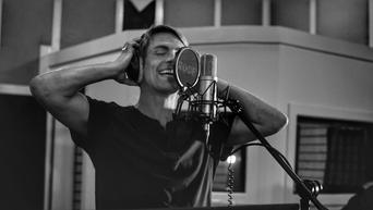 Brennan Villines at American Recording Studios