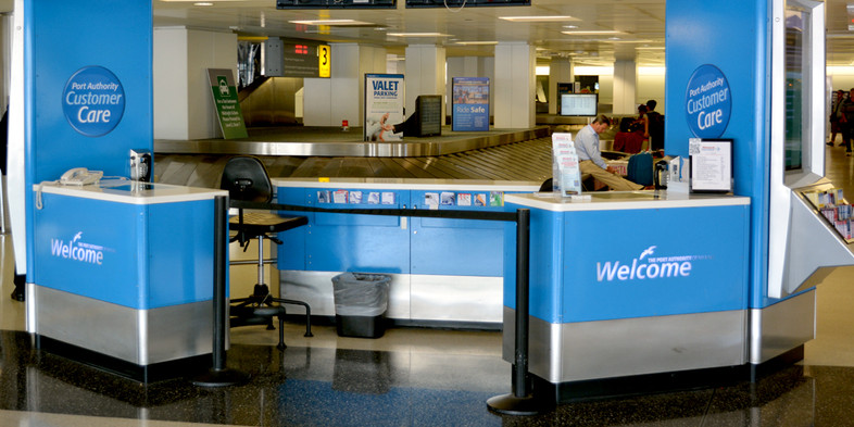 Welcome Centers service desk