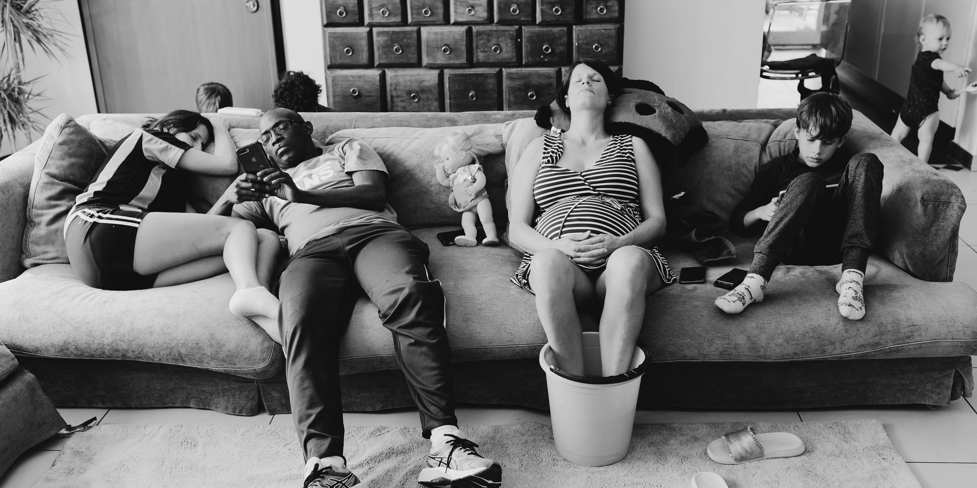 documentary family photography in italy