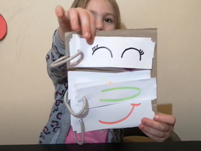 Learning Emotions - Make a Funny Face Book