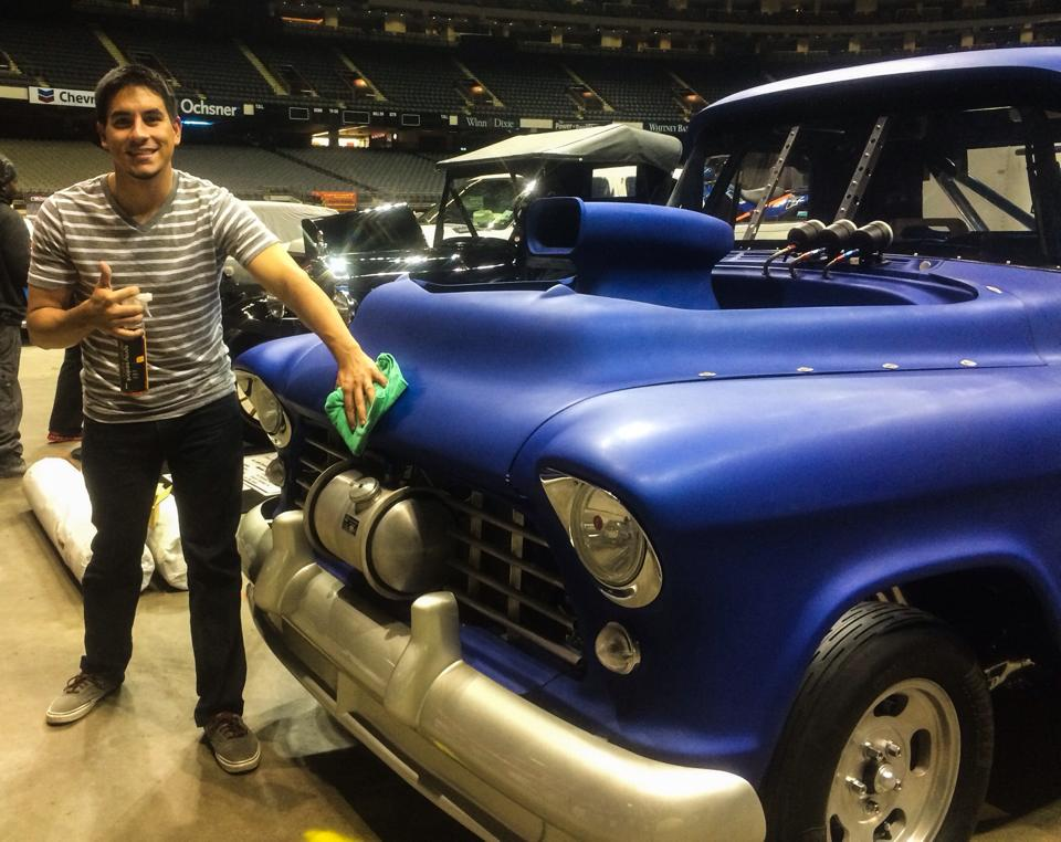2015 World of Wheels in Superdome