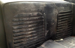1964 1/2 Mustang Leather Before